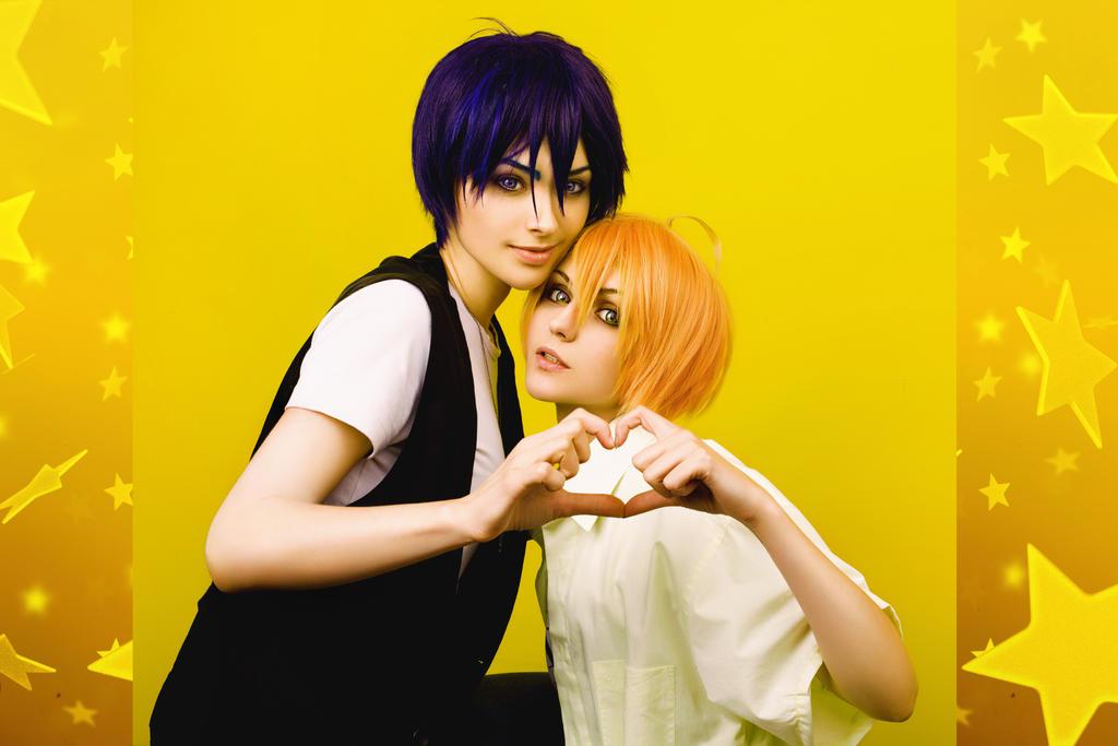 LOVE  STAGE - Izumi X Ryoma by GeshaPetrovich