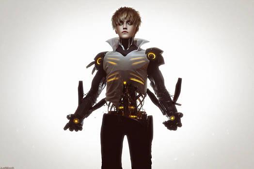Hero S-class - Genos. One Punch Man