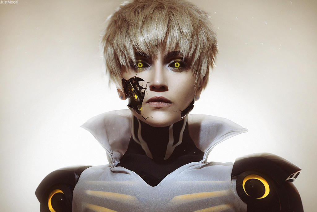 One Punch Man . Genos by GeshaPetrovich