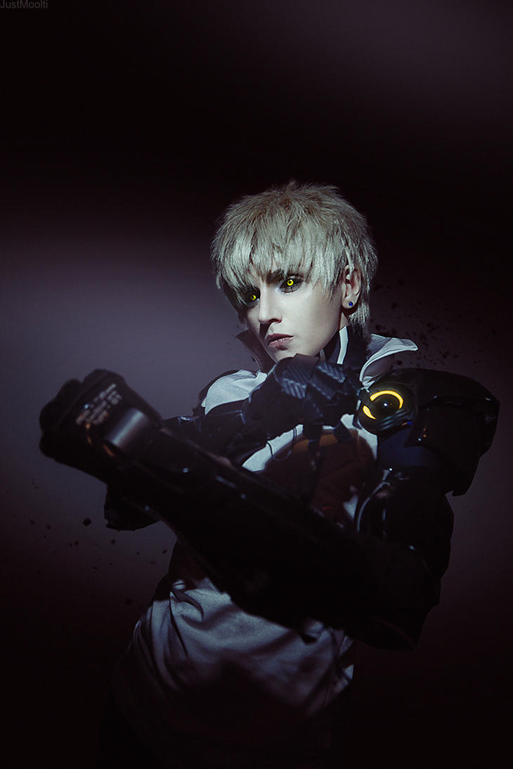 Genos. One Punch Man by GeshaPetrovich