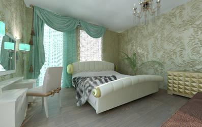 White bedroom by berenika