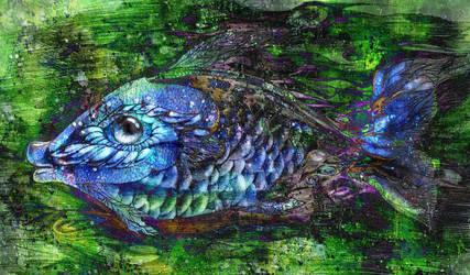 Blue Fish by berenika