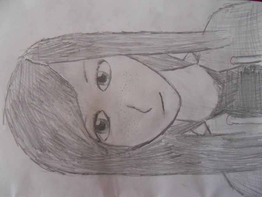Drawing of my Girlfriend :D (kinda failed) by AronflameNagasaki on ...