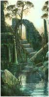 sunken temple by pixieface