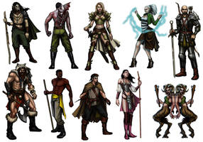 Lore of Steel Archetype sheet by pixieface