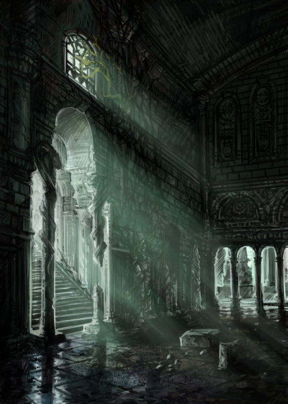 Lore of Steel - Catacombs by pixieface