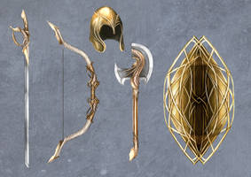 The Lost Heralds - ornate items by pixieface