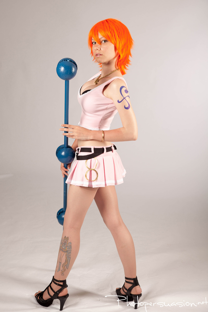 Pink Nami ~ One Piece by SinnocentCosplay