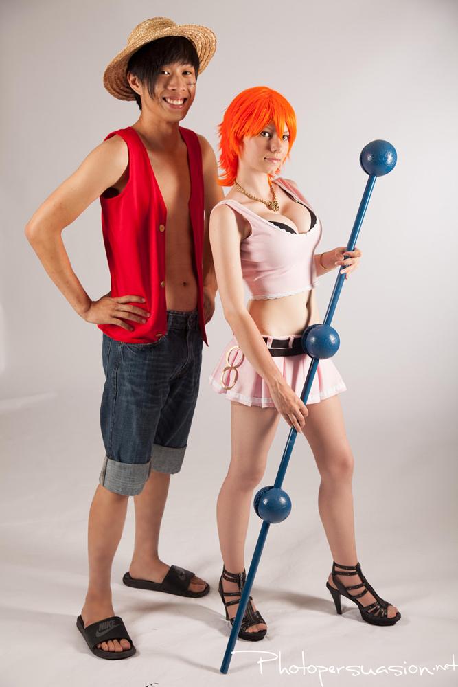 Pink Nami ~ One Piece 2 by SinnocentCosplay