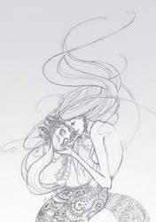 Mermaid by Sepia-Heart