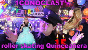 1CONOCLA5Ts Roller Skating Quinceanera!