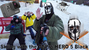 1CONOCLA5T reviews the GoPro HERO 5 Black on ski's