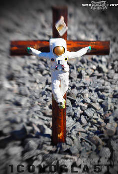 crucified astronaut by 1CONOCLA5T