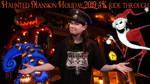 Haunted Mansion Holiday 2019 4K ride through by 1CONOCLA5T