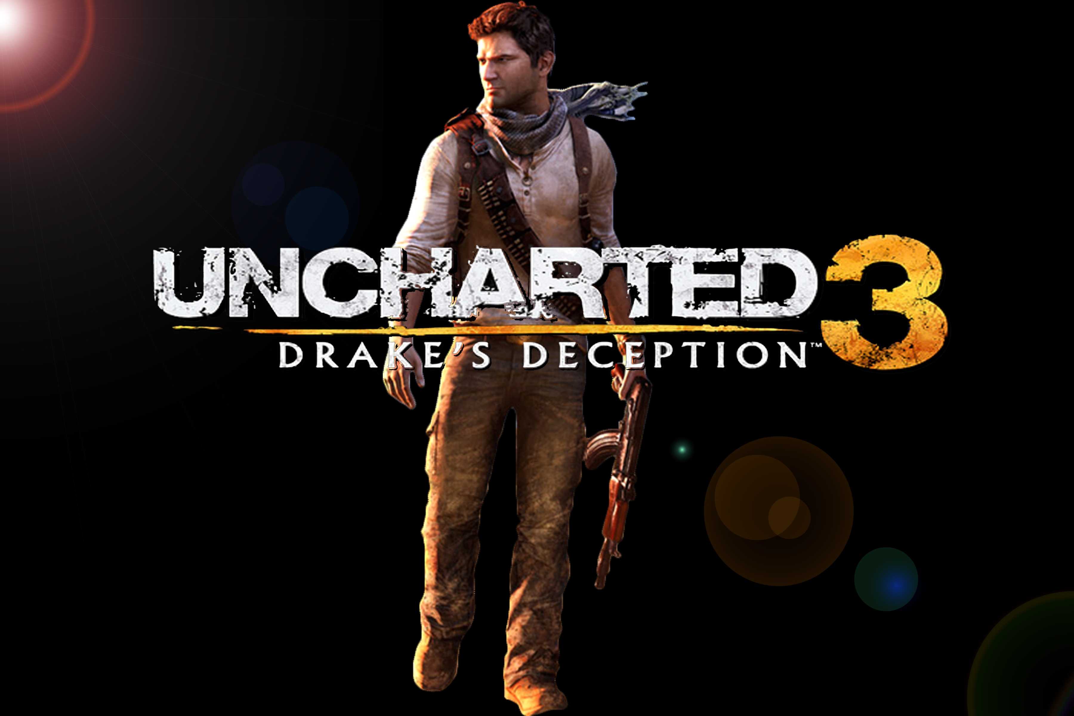 Uncharted 3 : Drakes Deception by Destroythattown90 on ... Uncharted 3 Drakes Deception Wallpaper