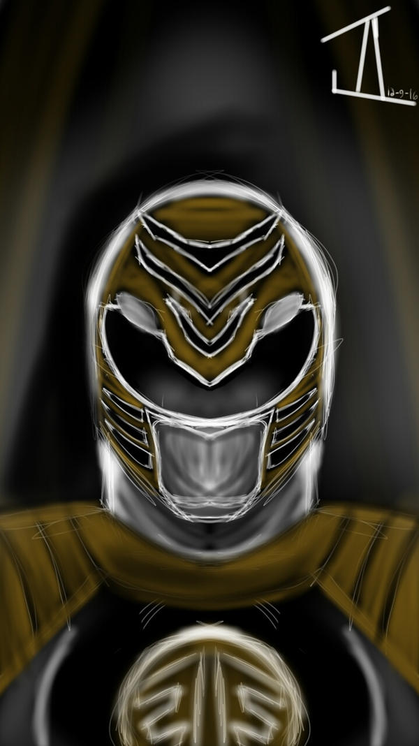 the white Ranger by 3HeartFeast