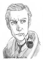 Sherlock Holmes by Windmaedchen