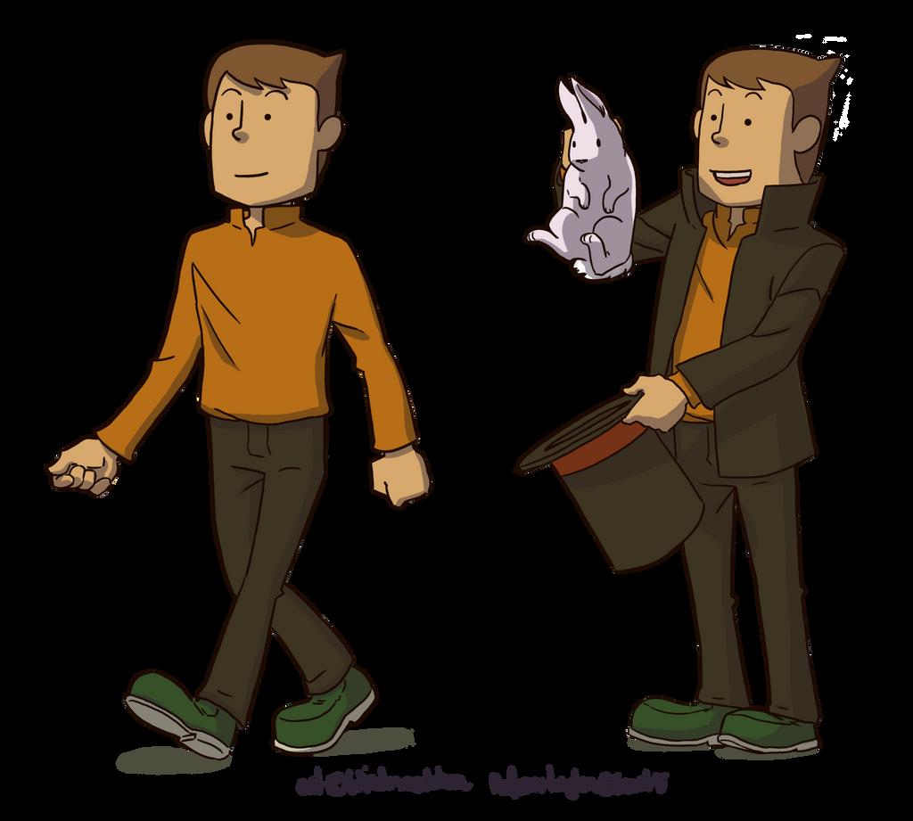 Professor Layton by Windmaedchen