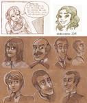 Random Recent Sketches