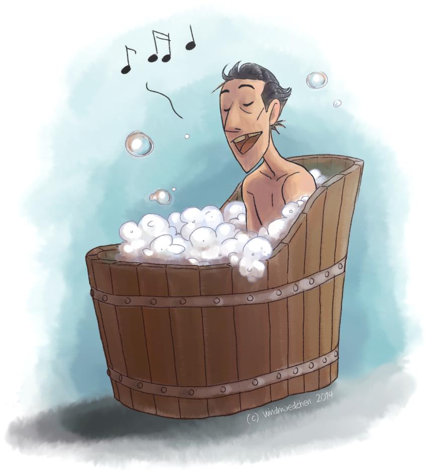 Bathtub  Singing by Windmaedchen
