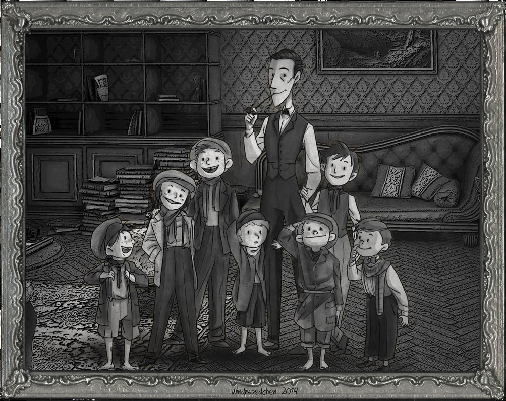Baker Street Family by Windmaedchen