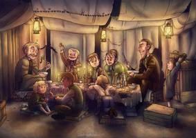 BSI Annual Dinner - SECRET- by Windmaedchen