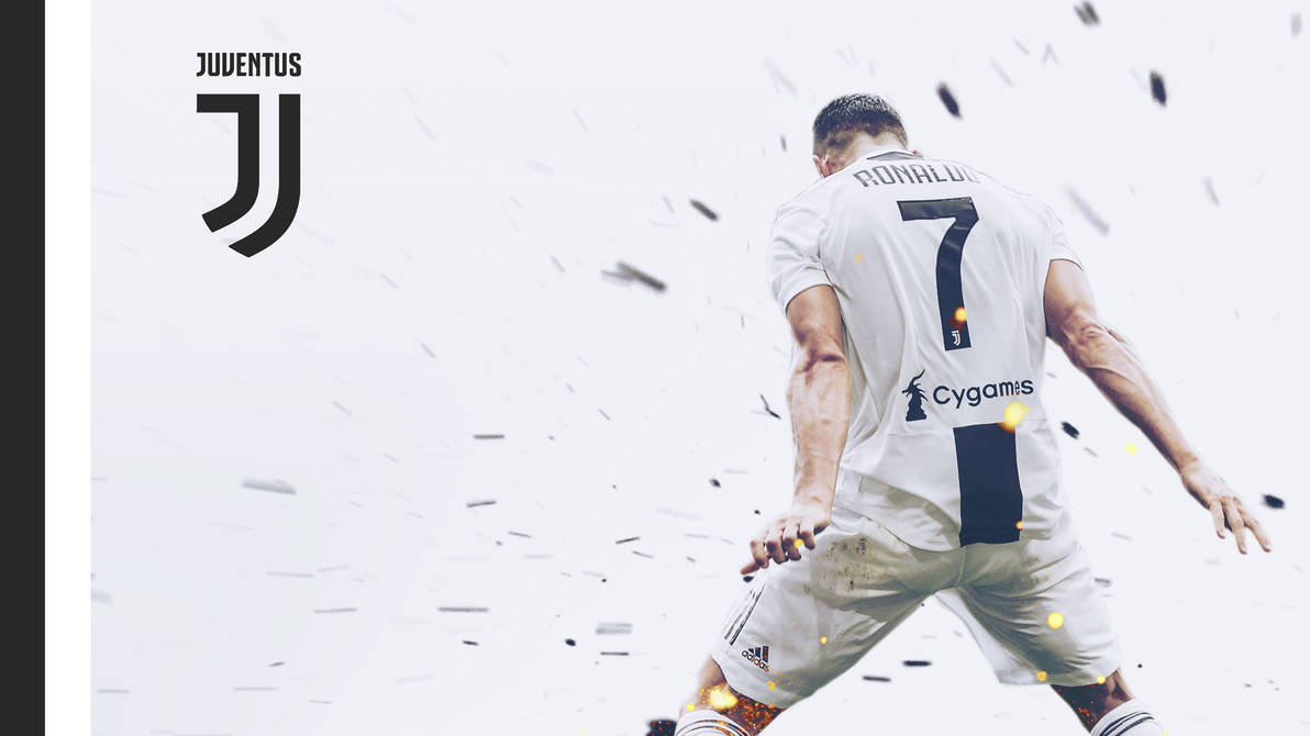 Cristiano Ronaldo CR7 Juventus Wallpaper 1920x1080 by vik-west