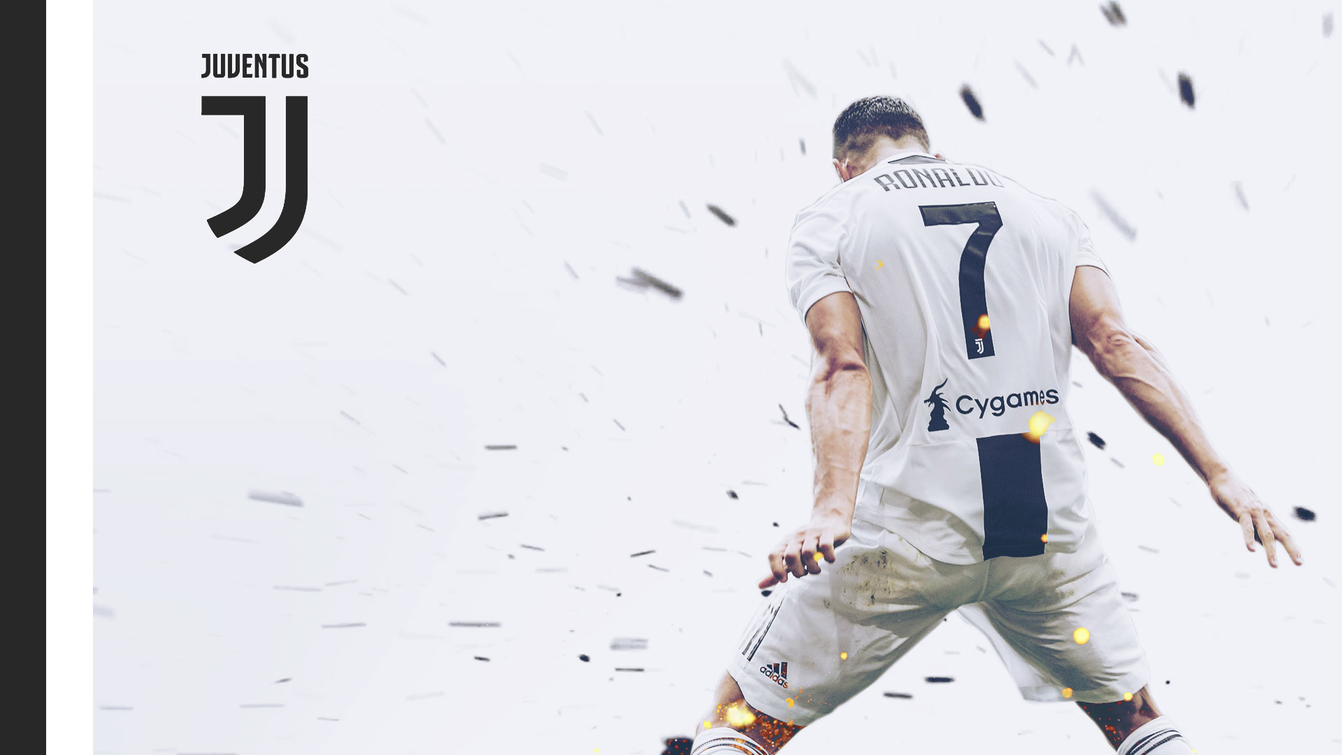 Cristiano Ronaldo Cr7 Juventus Wallpaper 1920x1080 By Vik West On Deviantart