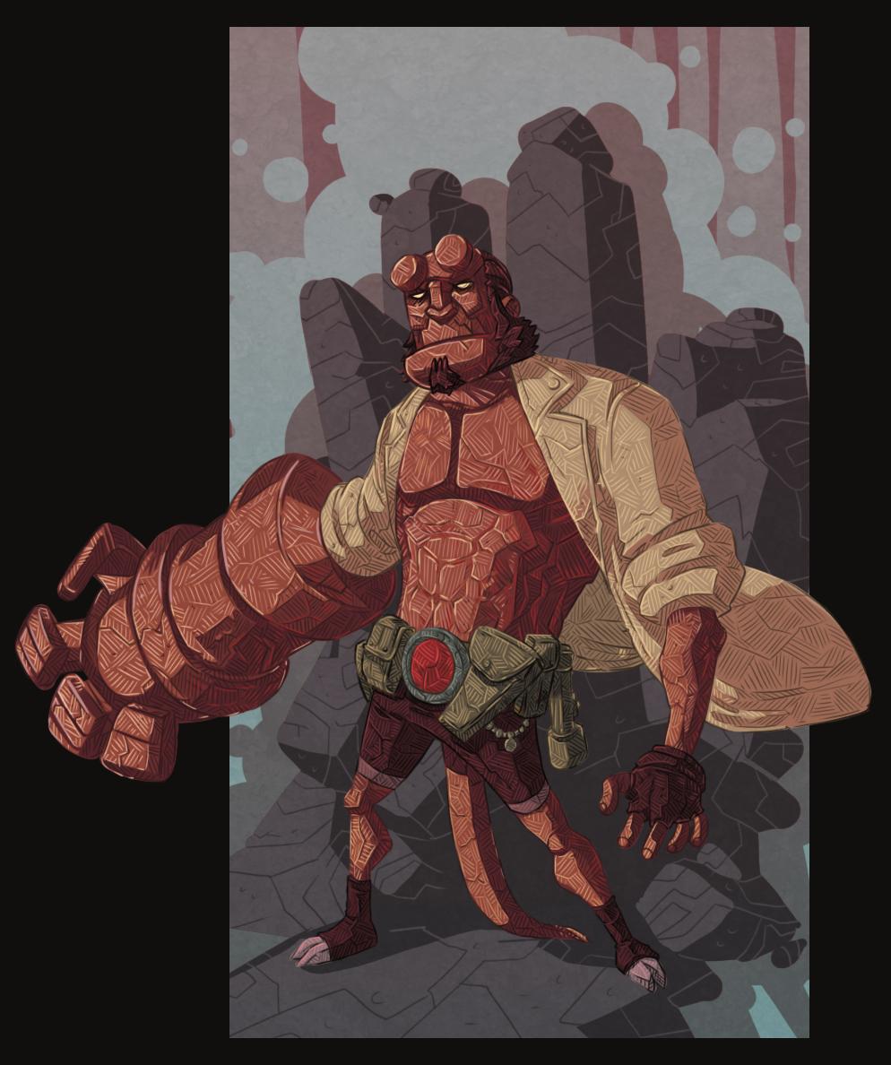 Hellboy Fun Times by stplmstr