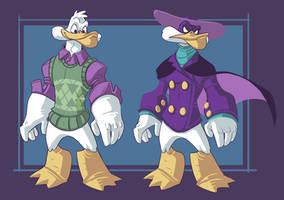 Tindraws- 80-90 Cartoons- Darkwing Duck