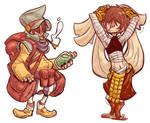 Indigo- Final Fantasy Tactics Styles