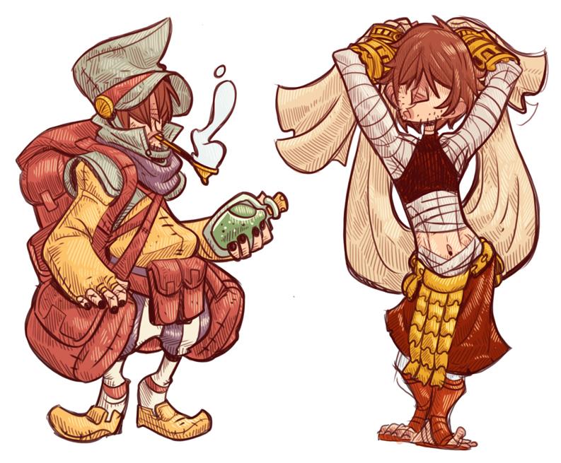 Indigo- Final Fantasy Tactics Styles by stplmstr
