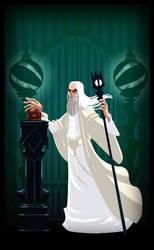 #Sketchdailies #ChristopherLee #Saruman by stplmstr