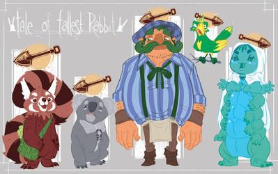 Tale of Tallest Rabbit- Drawings 02 by stplmstr