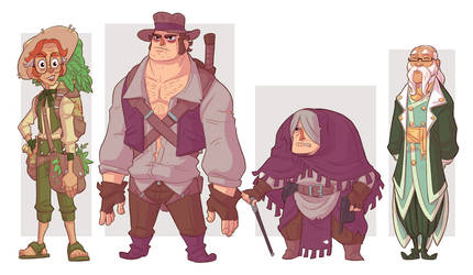 Adelie Apollinaire Side characters by stplmstr