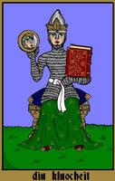 The Tann Tarot - diu kluocheit by Versipelles