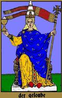 The Tann Tarot - Faith by Versipelles