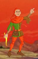 DnDC Hank Goes Medieval Color by Versipelles