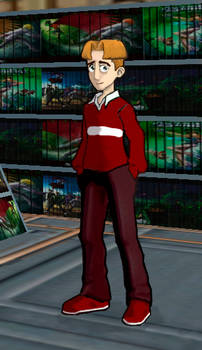 Randy Cunningham - Nameless Boy with a Red Shirt