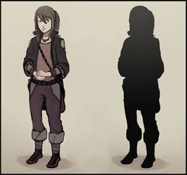 Adele - Character Design by F87w