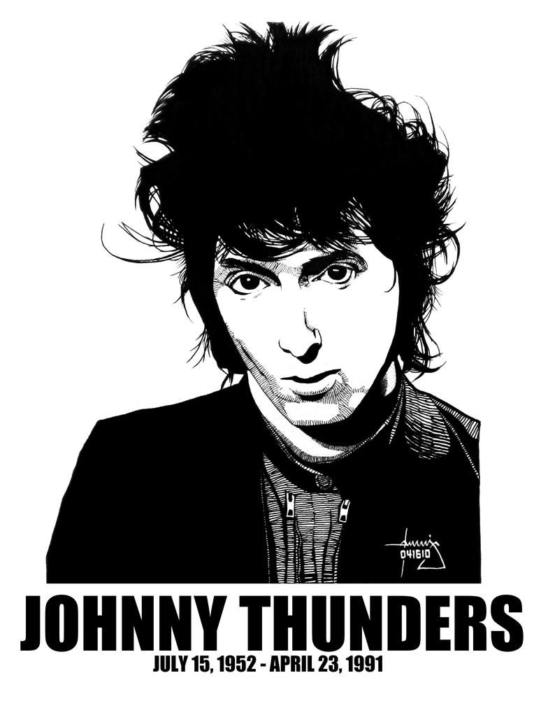 DSS No. 18 - Johnny Thunders by gothicathedral