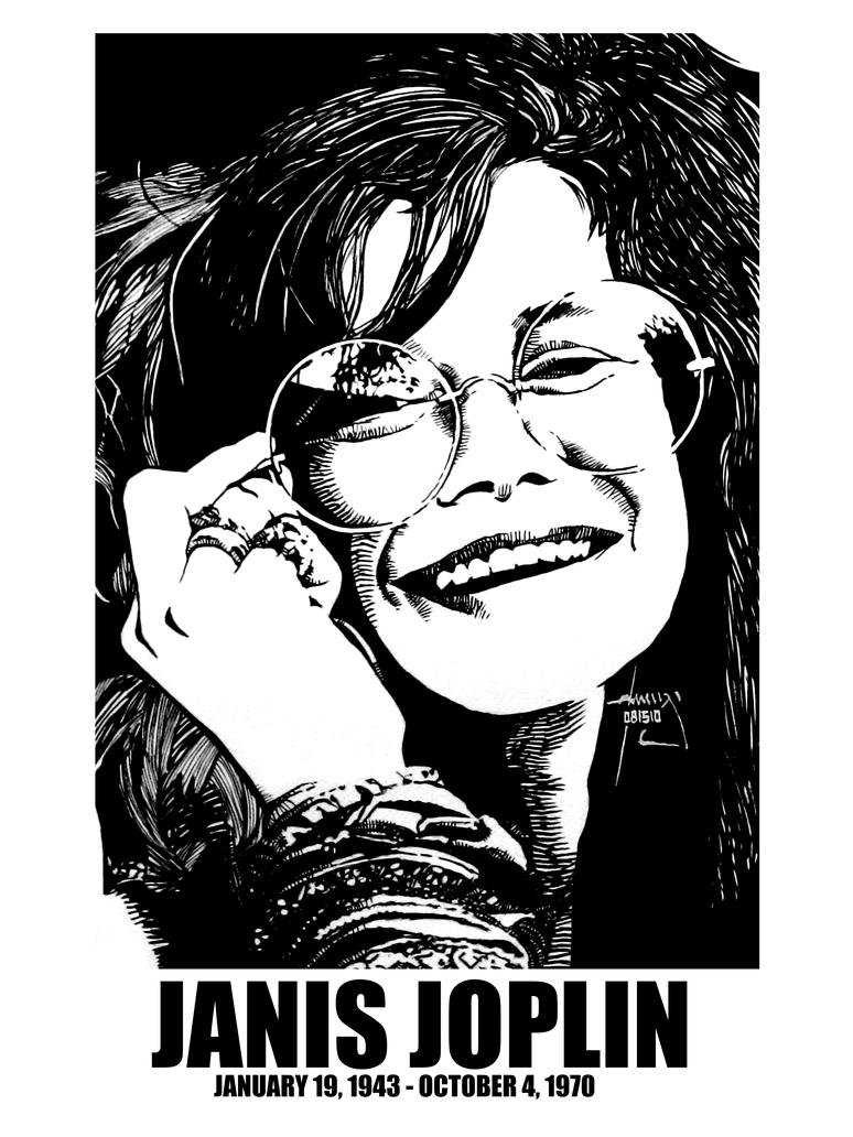 Dss No 48 Janis Joplin By Gothicathedral On Deviantart