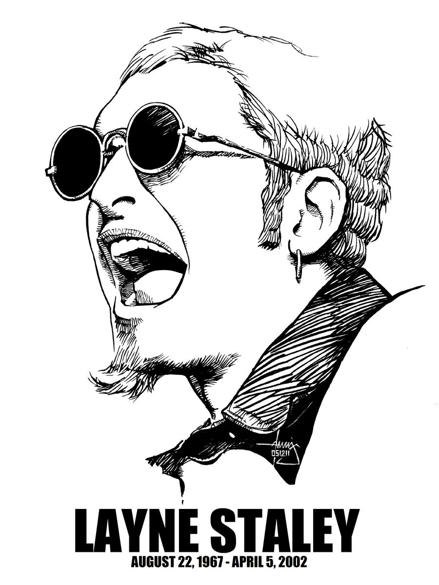 DSS No. 59 - Layne Staley by gothicathedral