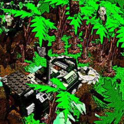 Lego Jungle Cutter by SmashBrawlR7538