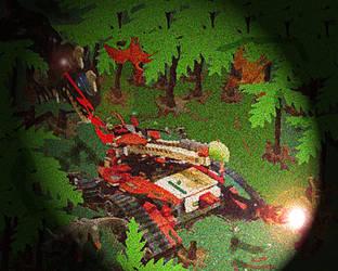 Lego Iron Predator by SmashBrawlR7538