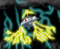 Magnezone and Thunderbolts by SmashBrawlR7538
