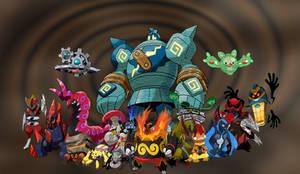 Fav Pokemon - Unova, remade by SmashBrawlR7538