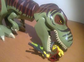 Lego Diets - T-Rex by SmashBrawlR7538