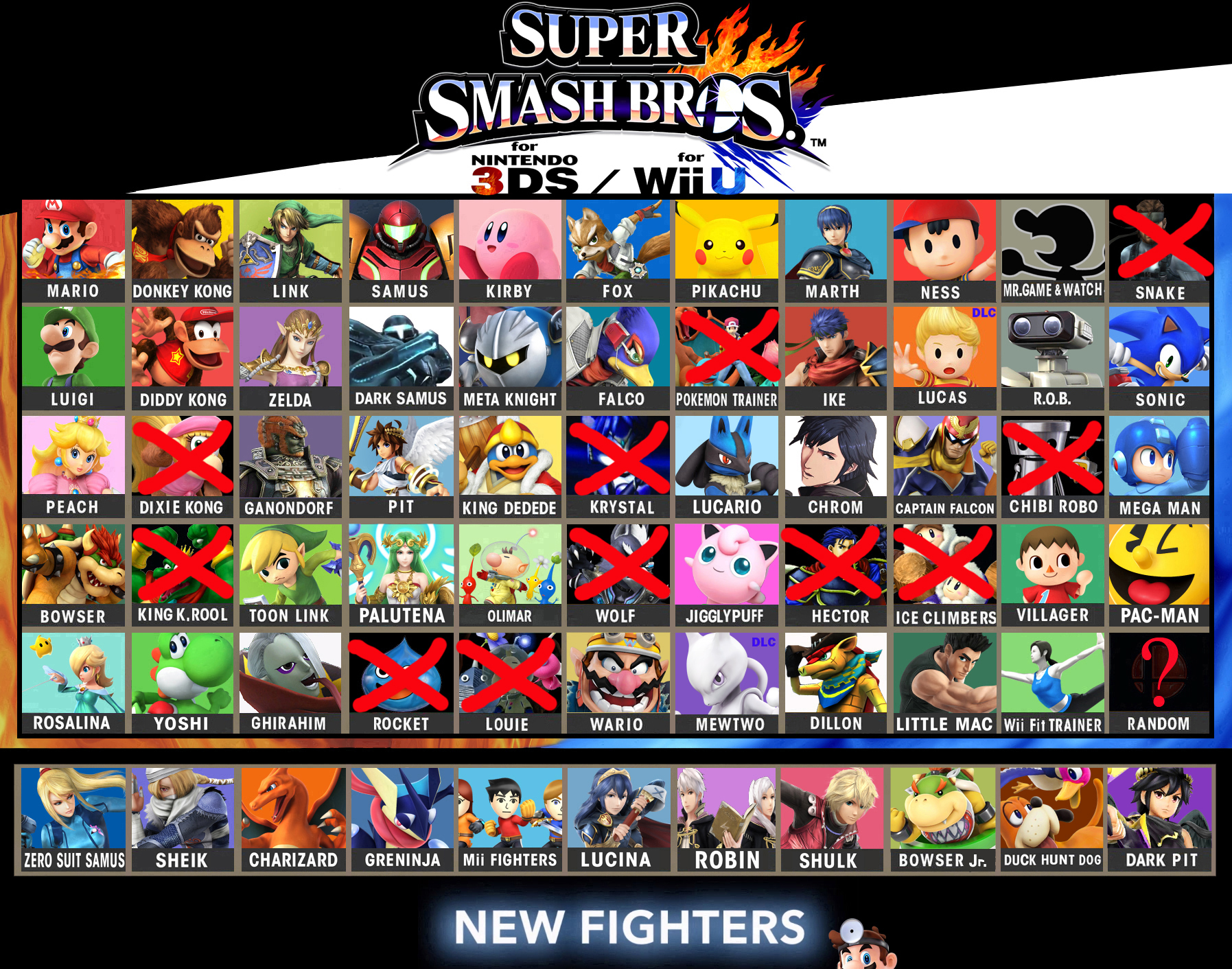super smash 3ds matchmaking Super smash bros for nintendo 3ds and super smash bros for wii u are  fighting video  although the game does not feature a ranking system for online  matches, matchmaking between players of similar skill levels was introduced  online.