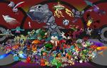Favourite Pokemon - Generations 1-7 by SmashBrawlR7538